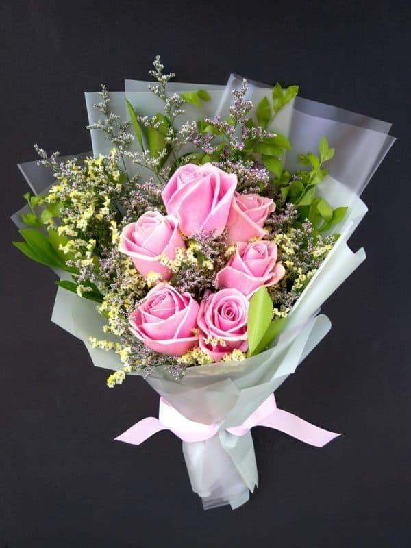 Happy Pinky Rose