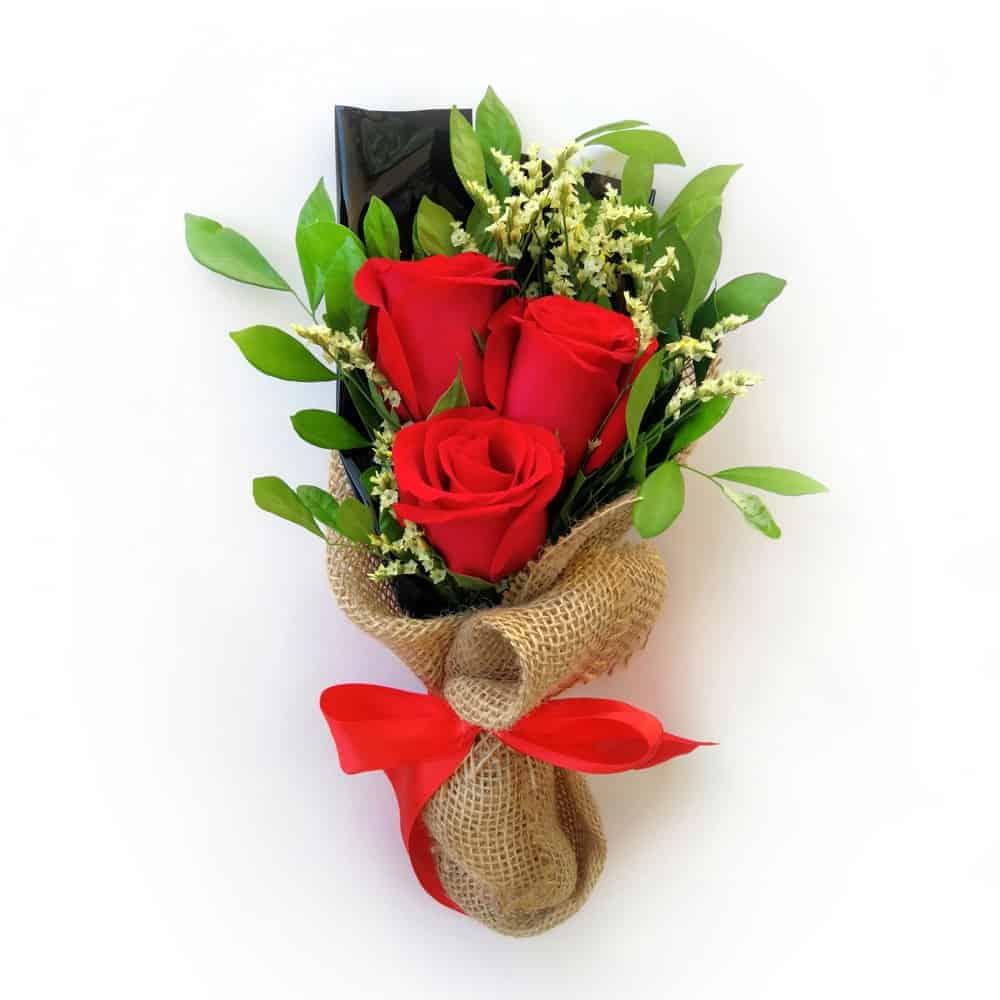 Happy Rose Mini (Mini Hand Bouquet)