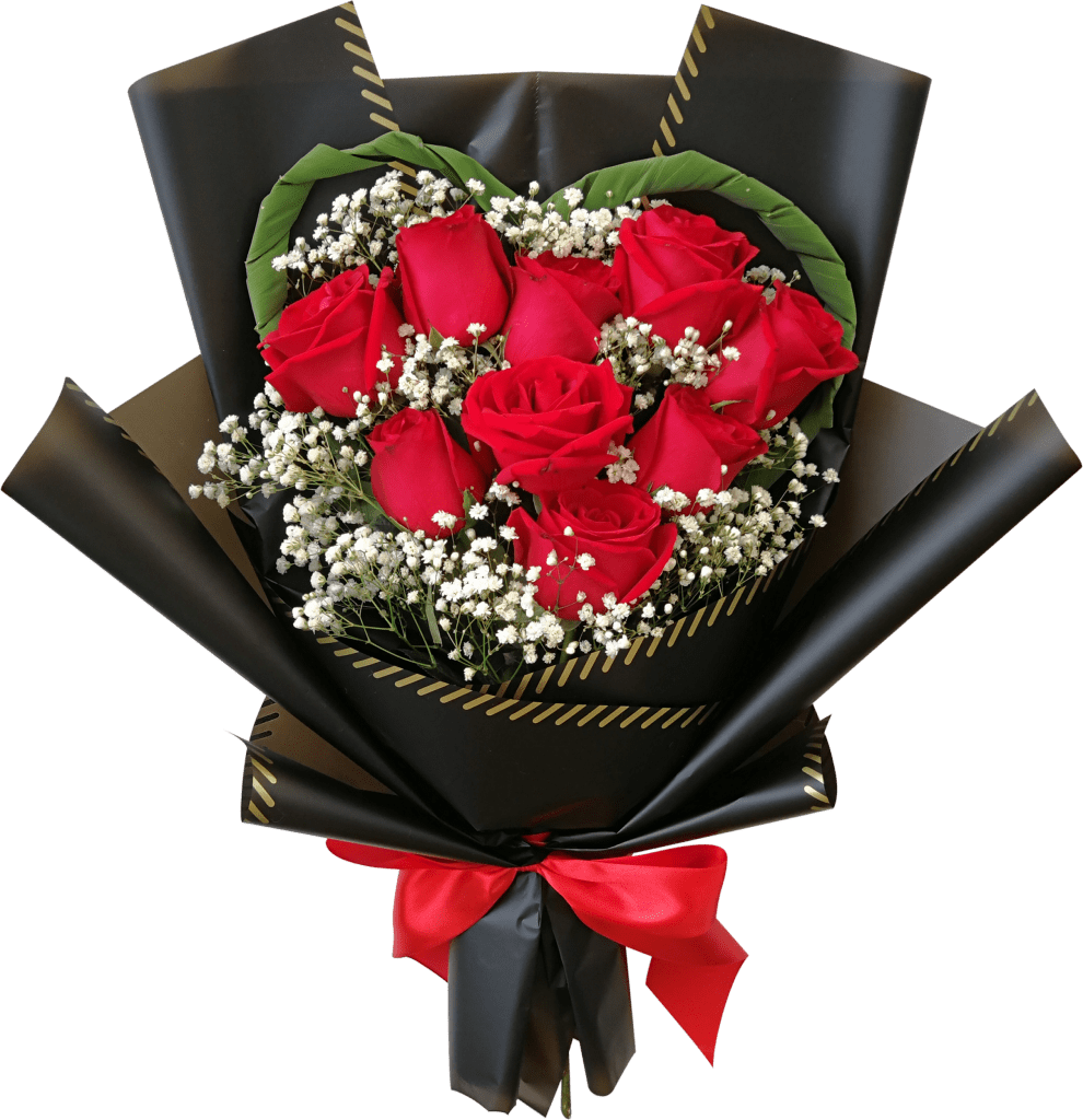 valentine's day rose bouquet