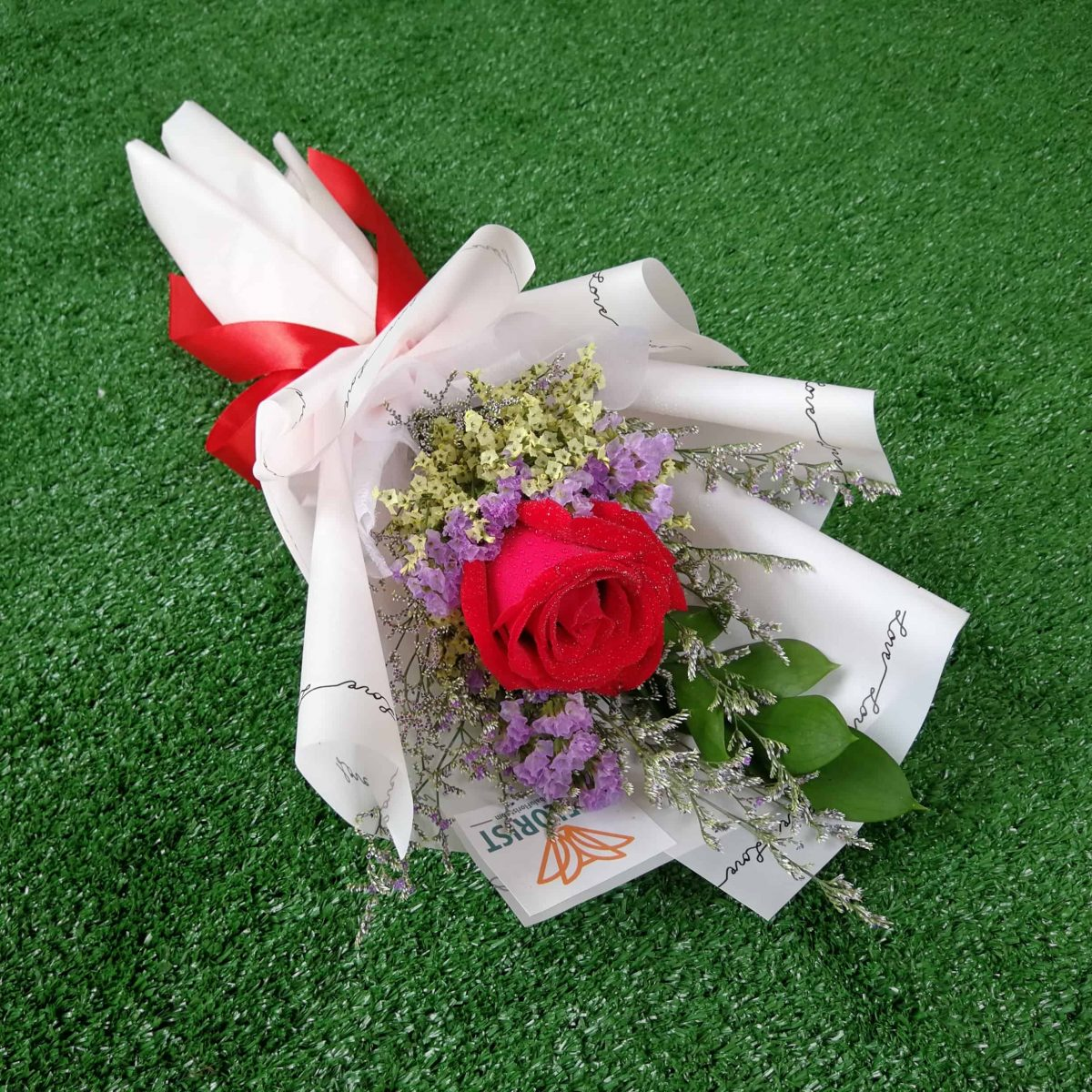 First Date (Mini Hand Bouquet) - KK Flower Delivery